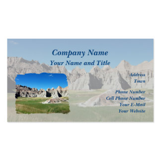 Badlands Business Card