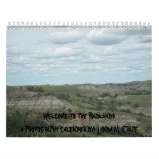 Badlands Calender Calendar