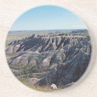 Badlands Dakota del Sur Posavasos Diseño