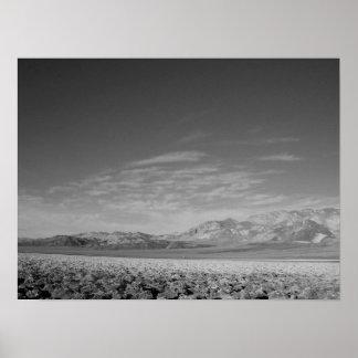 Badlands- Death Valley, CA Poster