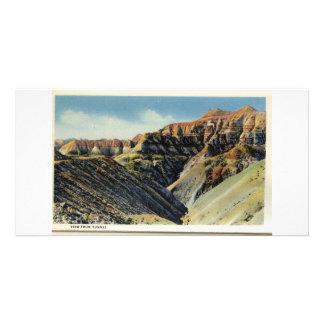 Badlands del área del túnel de Dakota del Sur Tarjeta Personal Con Foto