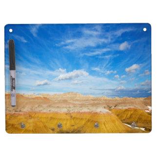 Badlands Dry Erase and Keychain Holder Dry Erase Board With Keychain Holder