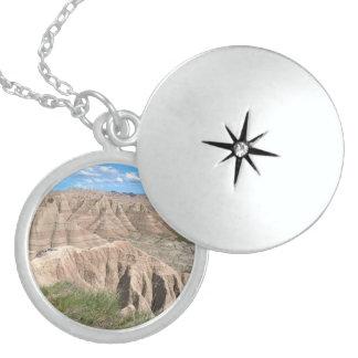 Badlands Eastern Loop Round Locket Necklace