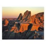 Badlands en el parque nacional de Theodore Rooseve Fotografías