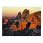 Badlands en el parque nacional de Theodore Rooseve Postales