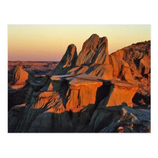 Badlands en el parque nacional de Theodore Tarjetas Postales