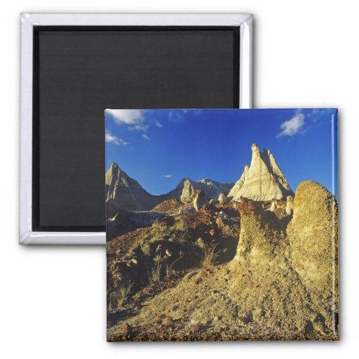 Badlands formations at Dinosaur Provincial Park 2 Fridge Magnet