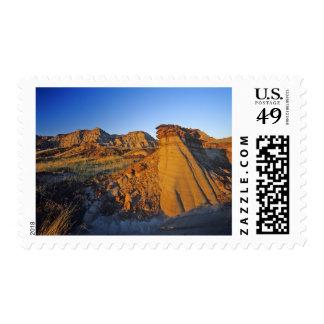 Badlands formations at Dinosaur Provincial Park 3 Postage
