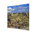Badlands formations at Dinosaur Provincial Park 4 Canvas Print