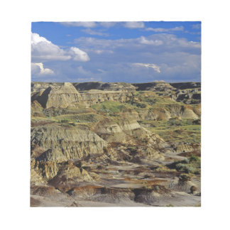 Badlands formations at Dinosaur Provincial Park 4 Memo Note Pads