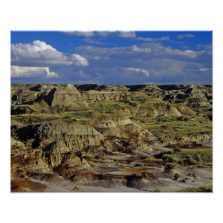 Badlands formations at Dinosaur Provincial Park 4 Poster