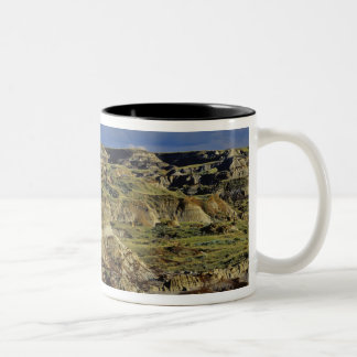 Badlands formations at Dinosaur Provincial Park 4 Two-Tone Coffee Mug