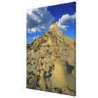 Badlands formations at Dinosaur Provincial Park 5 Canvas Print