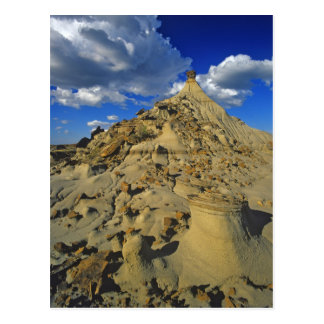 Badlands formations at Dinosaur Provincial Park 5 Postcard