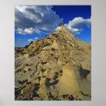 Badlands formations at Dinosaur Provincial Park 5 Posters