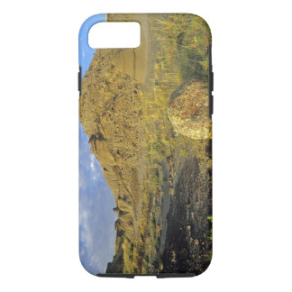 Badlands formations at Dinosaur Provincial Park iPhone 7 Case