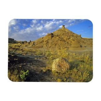 Badlands formations at Dinosaur Provincial Park Magnet