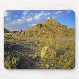 Badlands formations at Dinosaur Provincial Park Mouse Pad