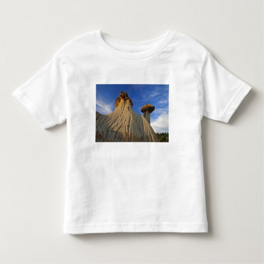 Badlands formations at Makoshika State Park in Toddler T-shirt