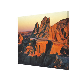 Badlands in Theodore Roosevelt National Park Canvas Print