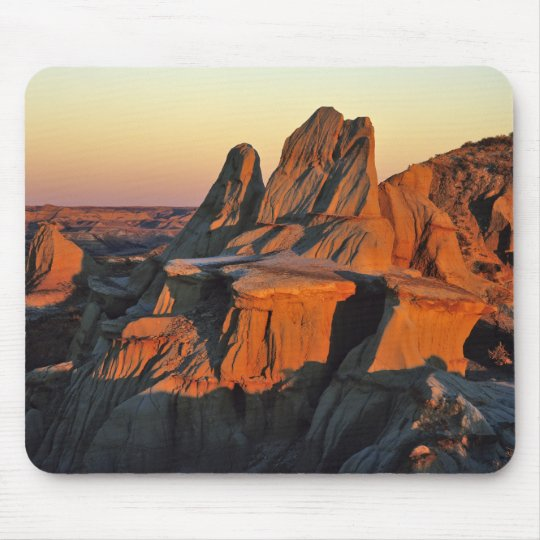 Badlands in Theodore Roosevelt National Park Mouse Pad