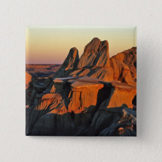 Badlands in Theodore Roosevelt National Park Pinback Button