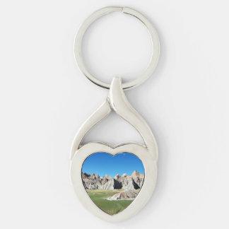 Badlands Keychain