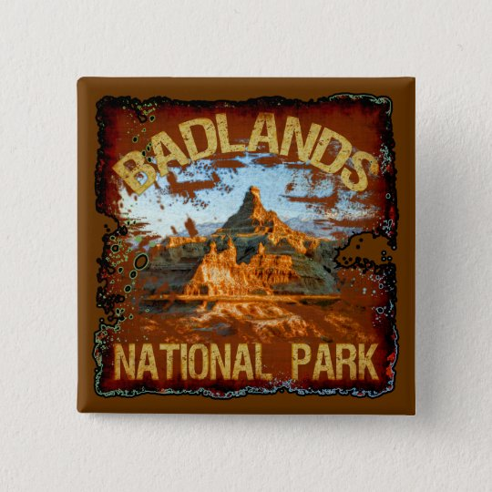 Badlands National Park Button