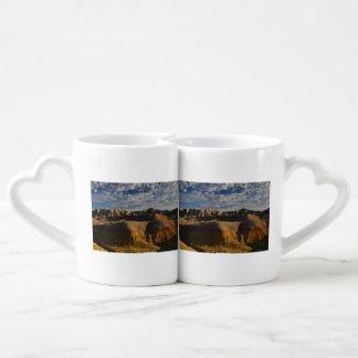 Badlands National Park Couples Coffee Mug