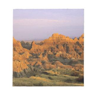 Badlands National Park in South Dakota Notepad