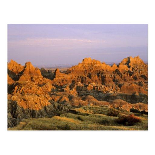 Badlands National Park in South Dakota Postcards