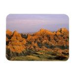 Badlands National Park in South Dakota Rectangle Magnets