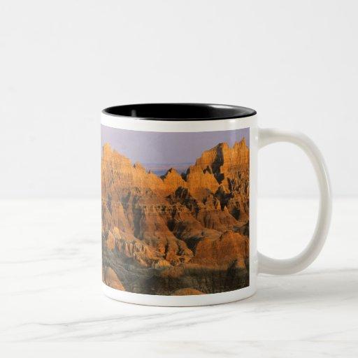 Badlands National Park in South Dakota Two-Tone Coffee Mug