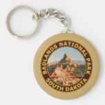 Badlands National Park Key Chain