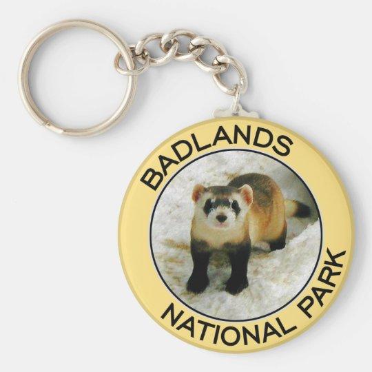 Badlands National Park Keychain