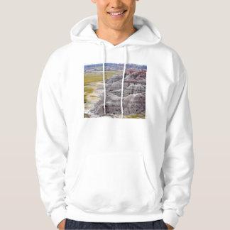 Badlands national park mountains from afar sweatshirt