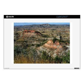 """Badlands National Park North Dakota 15"""" Laptop Skins"""