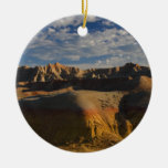 Badlands National Park Double-Sided Ceramic Round Christmas Ornament