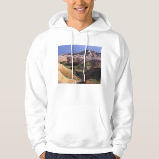 Badlands national park scenery view from afar pullover