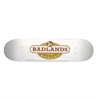 Badlands National Park Skateboard Deck