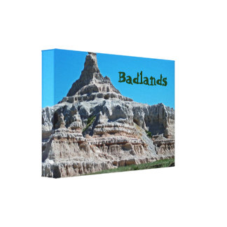 Badlands National Park, South Dakota Canvas Print