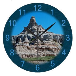 Badlands National Park South Dakota Large Clock