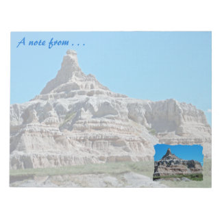 Badlands National Park, South Dakota Note Pad