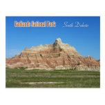 Badlands National Park, South Dakota Post Card