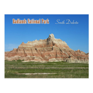 Badlands National Park South Dakota Post Card