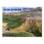 Badlands National Park South Dakota Postcard