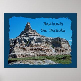 Badlands National Park, South Dakota Posters