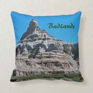 Badlands National Park, South Dakota Throw Pillow