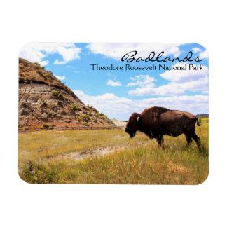 Badlands of North Dakota Magnet
