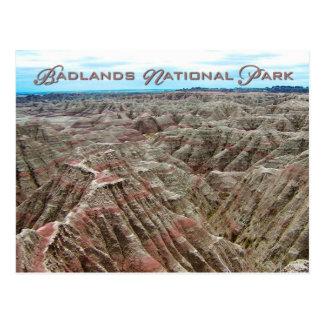 Badlands parque nacional Dakota del Sur